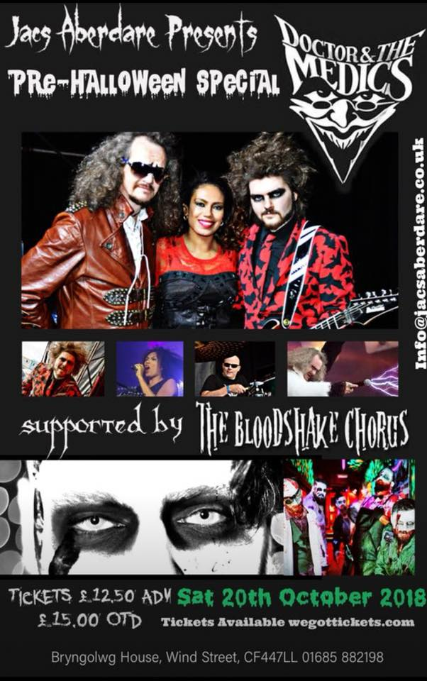 Gig List – Doctor and the Medics